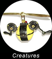 Creature Sculptures
